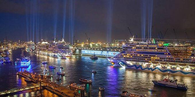 NEWS: Weltgrößte Schiffstaufe: 1,4 Millionen Menschen erleben unvergleichliche Parade von AIDA Schiffen more…
