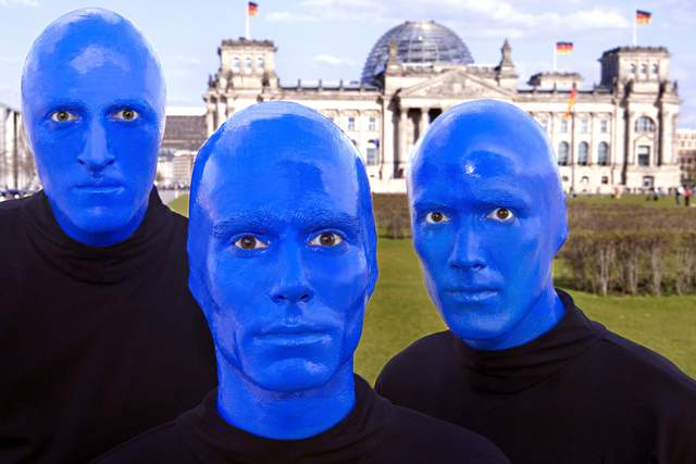 HIGHLIGHT: Blue Man Group – im Stage Bluemax Theater in Berlin more…