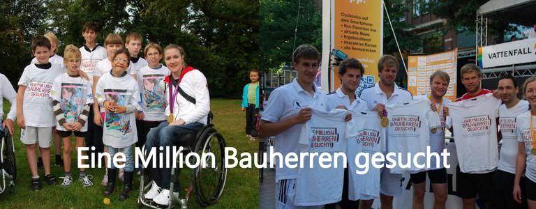 """CHARITY: """"Eine Million Bauherren gesucht"""" – Hamburgs erste behindertengerechte Sporthalle more…"""