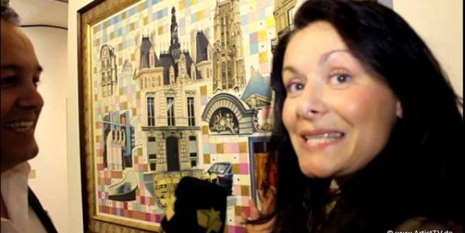 ART: Filmbeitrag – Vernissage in der Schanze 8 Gallery – Kunstwerke des Meisters Luciano Celli Tancredi more…