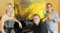 """ART & MUSIC & FOOD / NEWS: """"Paintings, Jazz & Delicious food"""" im Casa Rossa more…"""