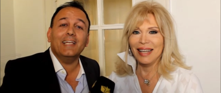 "ART & CHARITY: Amanda Lear Vernissage ""EVOLUTION"" und Stiftung Kinderjahre more…"