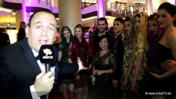 "FASHION WEEK BERLIN: LB lina berlina ""The Magic Stripes Fashion Show"" im Hilton Berlin more…"