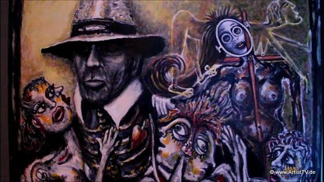 """ART: Der Maler Jörg Petersen – die """"my way"""" – Ausstellung in der Galerie Claudius more…"""