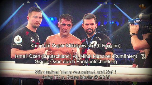 SPORT: Ismail Özen siegt in der Inselpark-Arena für das Team Sauerland more…