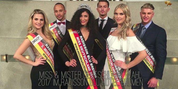 Miss & Mister Deutschland Wahl 2017 im Radisson Blu Hotel Bremen