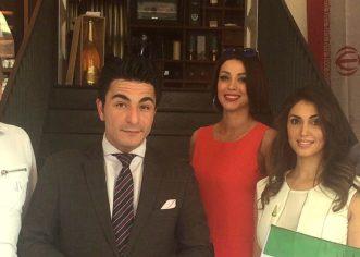Football World Cup 2018 – 100 IRANIANS in the Restaurant FAVOLOSO in Hamburg