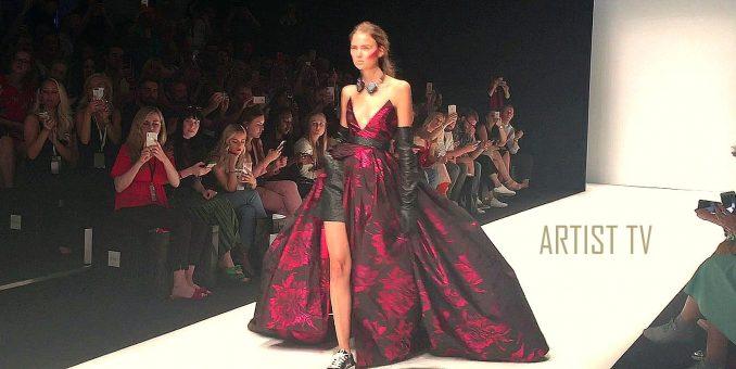 """Star-Designerin Irene Luft """"NEON NOIR"""" Spring / Summer 2019 Mercedes Benz Fashion Week Berlin"""