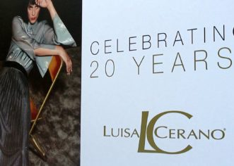 LUISA CERANO CELEBRATING 20 YEARS! Interviews with famous friends at the RED CARPET! During the Berlin Fashion Week!