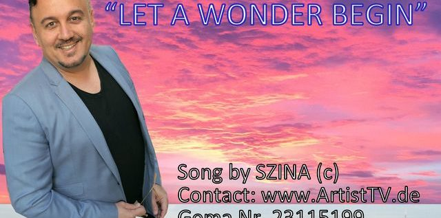 """ARTIST: SZINA / Aktuell: Der HSV Song """"Let A WONDER BEGIN"""" und weitere Songs!"""
