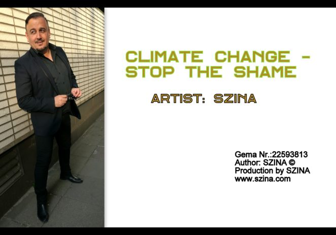ARTIST: SZINA / SONGS: CLIMATE CHANGE & BREAK DOWN THE WALLS & WE LIVE UP GEORGE MICHAEL