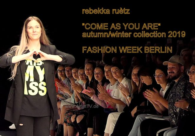 "FASHION WEEK BERLIN 2019 – rebekka ruètz ""COME AS YOU ARE"" – autumn/winter collection 2019"