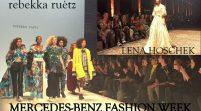 MERCEDES-BENZ FASHION WEEK – Interviews mit den Star-Designern LENA HOSCHEK, MARCEL OSTERTAG, rebekka ruètz und vielen Gästen