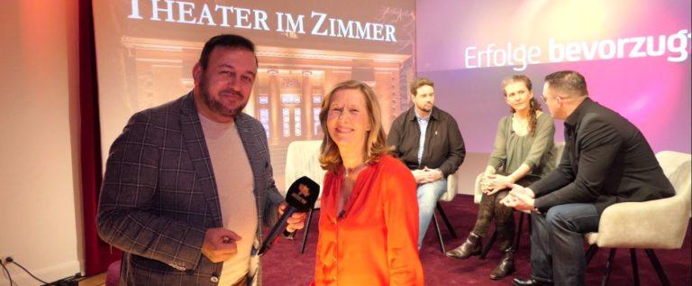"""NETZWERK-REPORTAGE für die Hamburg 1 TV Aufzeichnung: """"ERFOLGE BEVORZUGT"""" von Martina Hautau"""