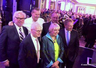 """25 JAHRE BLANKENESER NEUJAHRSEMPFANG – HAMBURGER KLÖNSCHNACK feiert Jubiläum – """"das"""" Gesellschaftliche Ereignis des Jahres in Hamburg"""