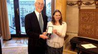 YAGMUR GEDÄCHTNISSTIFTUNG – Verleihung des Bundesverdienstkreuzes am Bande an den Vorsitzenden Michael Lezius