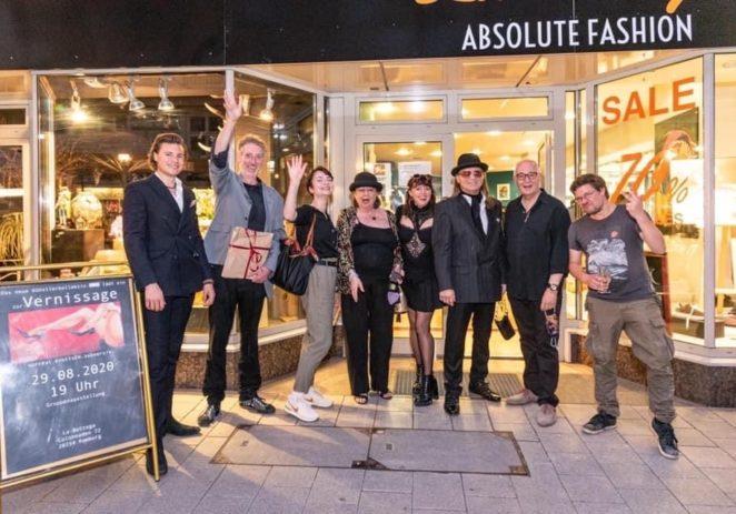 """Besuch beim Künstler-Kollektiv """"EWIG"""" – zu Gast im neuen Fashion- & Kultur-Hot Spot in den Colonnaden 72 in Hamburg"""
