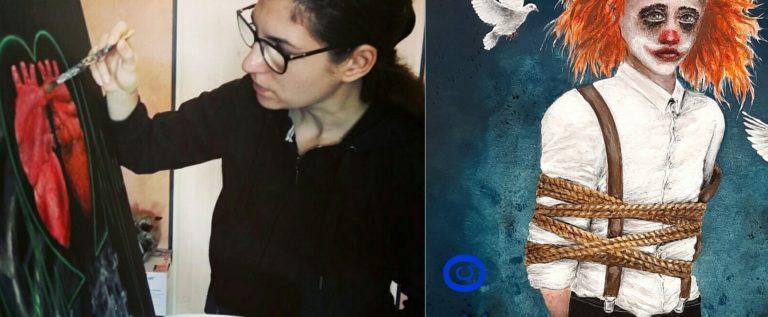 "ARTIST: ROSE BLACK – ""Im Namen der Schwarzen Rose"" – Fantasy-Gemälde, Portraimalerei"