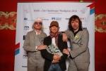 Heinz Strunk, Lars Jessen und Rocko Schamoni erhielten einen HANS für den Film Fraktus _ Verwendung honorarfrei bei Angabe (c)Public Address.JPG