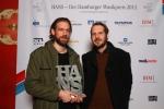 Swen Meyer und Gisbert zu Knyphausen nahmen die Auszeichnung für das Album I von KID KOPPHAUSEN entgegen _ Verwendung honorarfrei bei Angabe (c)Public Address.JPG