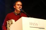 Thees Uhlmann nahm den HANS für das Label Grand Hotel van Cleef entgegen _ Verwendung honorarfrei bei Angabe (c)Public Address.JPG