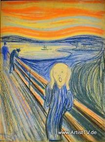 """ARTIST: """"Der Schrei"""" von Edvard Munch – das teuerste Bild der Welt bewegt die Gemüter more…"""