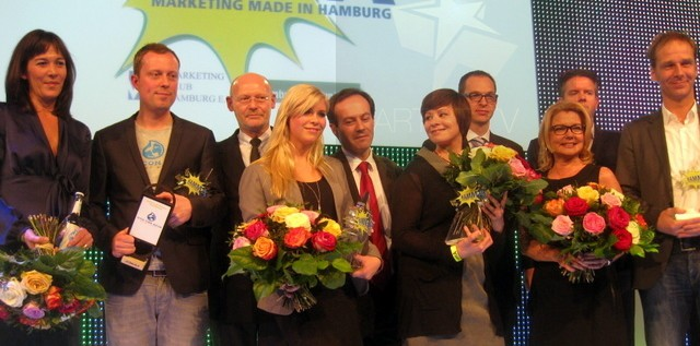 """HIGHLIGHT: """"DER HAMMA-AWARD"""" – HAMBURGER ABENDBLATT und Marketing Club Hamburg zeichnen die besten Marketingideen der Hansestadt im Jahr 2012 aus more…"""