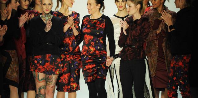 FASHION: Modedesignerin Anja Gockel – Wenn der Hahn kräht in Berlin… more…