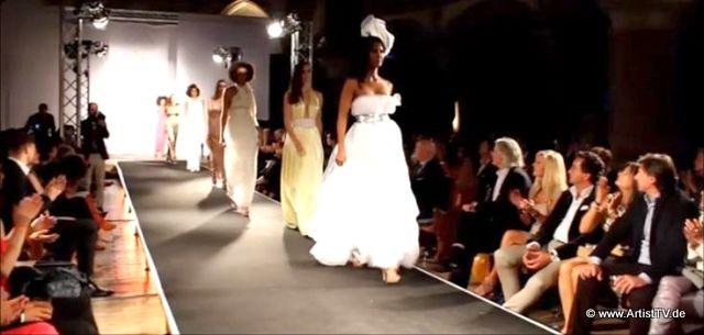 """CHARITY-MODENSCHAU: Modedesignerin Dünya Yildiz Can feierte in der Johanneskirche fünfjähriges Bestehen ihres Mode-Labels """"Millions & Millions"""" more…"""