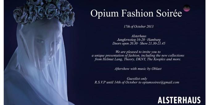 FASHION: OPIUM FASHION SOIRÈE am 17.10.2013 im Alsterhaus more…