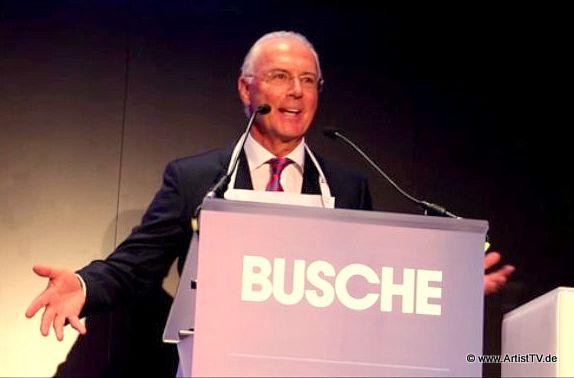 """HIGHLIGHT: 16. BUSCHE GALA mit Franz Beckenbauer, """"Genießer des Jahres 2014"""" more…"""