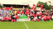"""CHARITY-FUSSBALL mit Prominenten & Ärzten: """"Kicken mit Herz 2014"""" in Hamburg more…"""