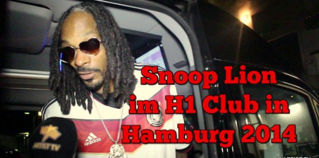 Superstar und Rap-Legende Snoop Dogg im angesagten Club H1 in Hamburg more…
