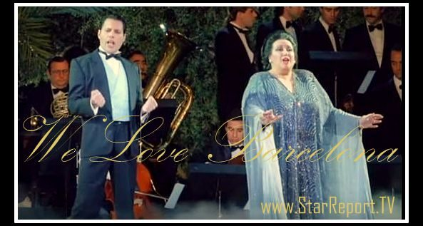 Long live Barcelona! In great worship, sung by the greatest singers of all times! Freddy Mercury & Montserrat Caballé